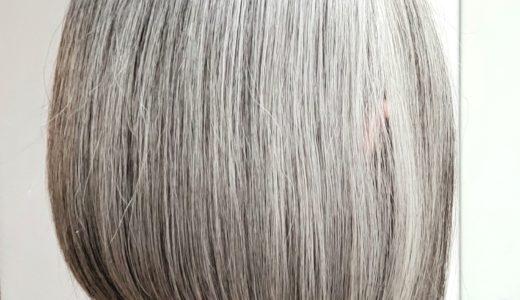 白髪を染めるor染めない
