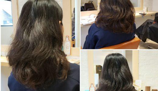 カットのみでクセ毛を活かしたヘアスタイルにします!!