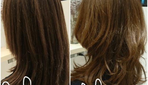 縮毛矯正でまっすぐ毛先をアレンジ