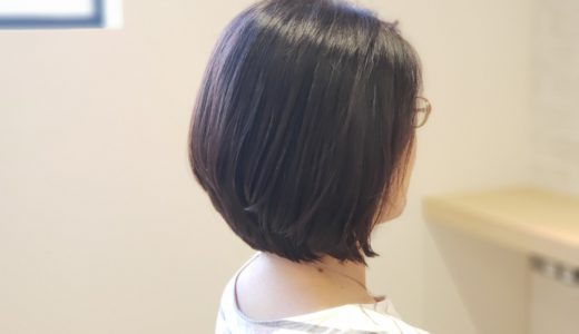 before after ボブスタイル