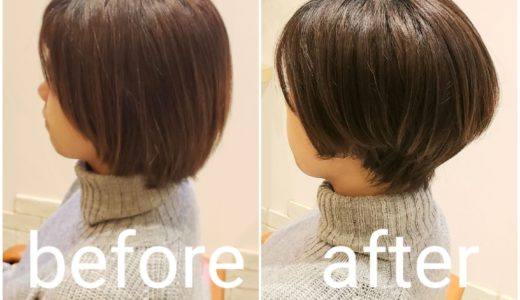 カットbefore after