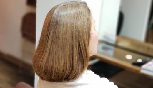 明るめの白髪染めからグレイヘアーにしていく方法