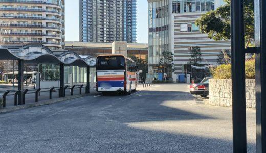 武蔵小杉駅から東京ディズニーリゾート行きのバスが出てるって話。