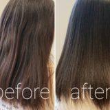 湿気で髪が広がって大変!!縮毛矯正で扱いやすいストレートに。