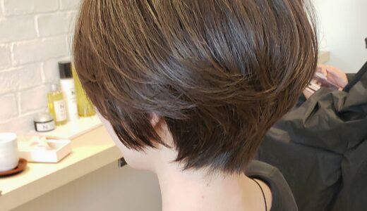 【40代ショート】髪がキレイに見える大人のショートスタイル