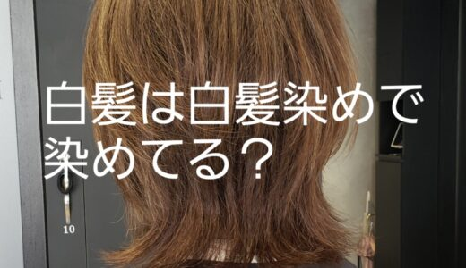 白髪があっても白髪染め使わない選択とは?